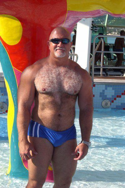 Speedo Bears Older Men Daddy Hot Guys Tights Swimwear Fashion