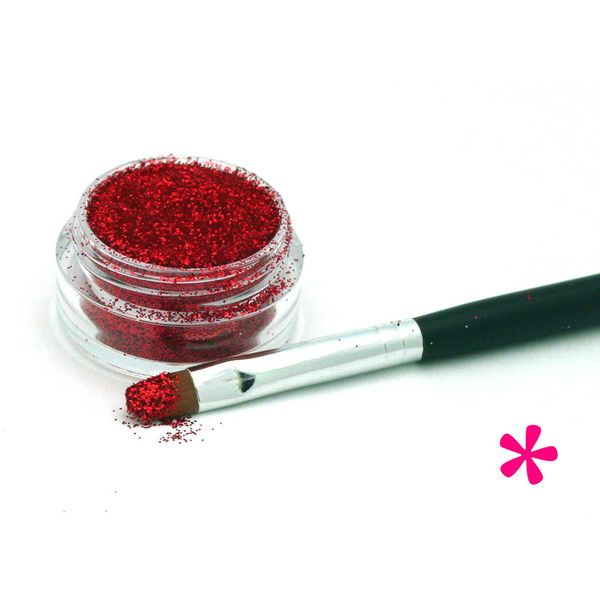 RED Cosmetic Glitter Rouge Loose Glitter Supply, Makeup Shimmer,... (€7,46) ❤ liked on Polyvore featuring beauty products, makeup, lip makeup, lip gloss, shiny lip gloss, red lip makeup, glitter lip gloss, red lip gloss and glitter lipgloss