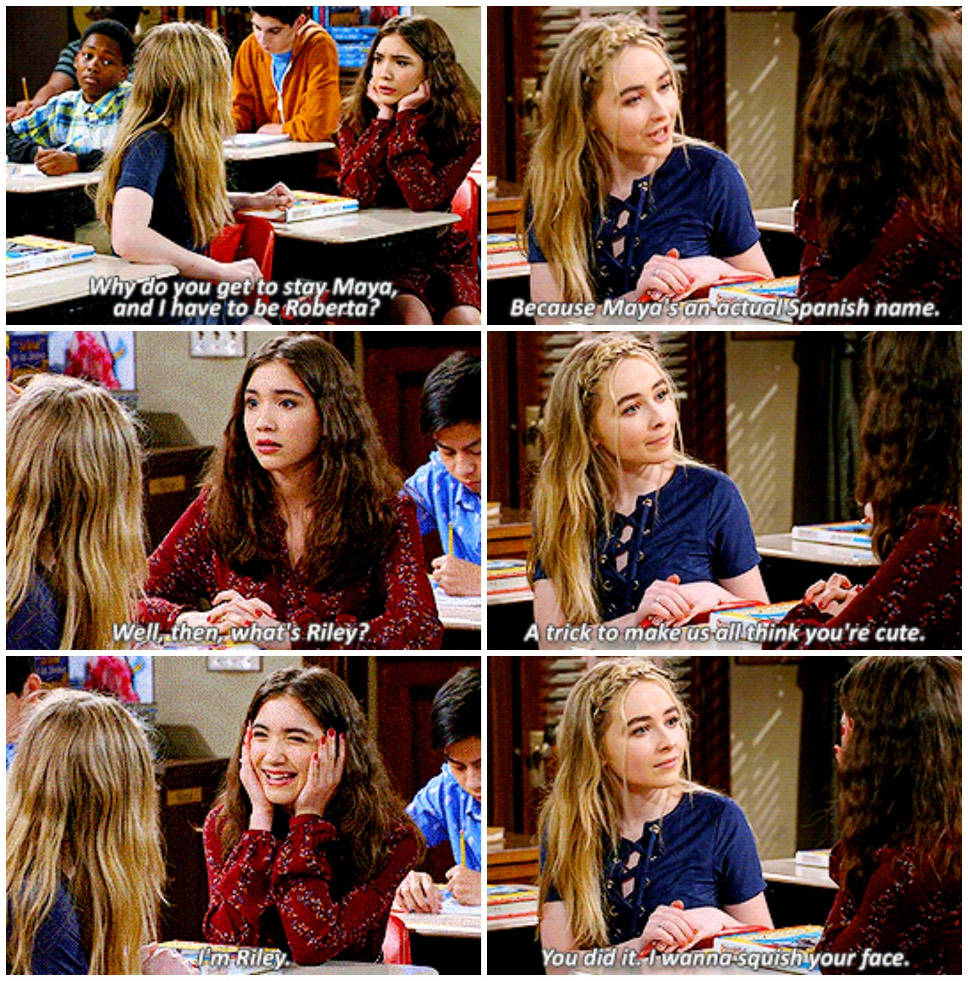 girl meets world maya and riley handshake Girl meets world: girl meets the tell-tale tot review dead hand  review krypton because the idea of riley and maya sneaking out and going to.