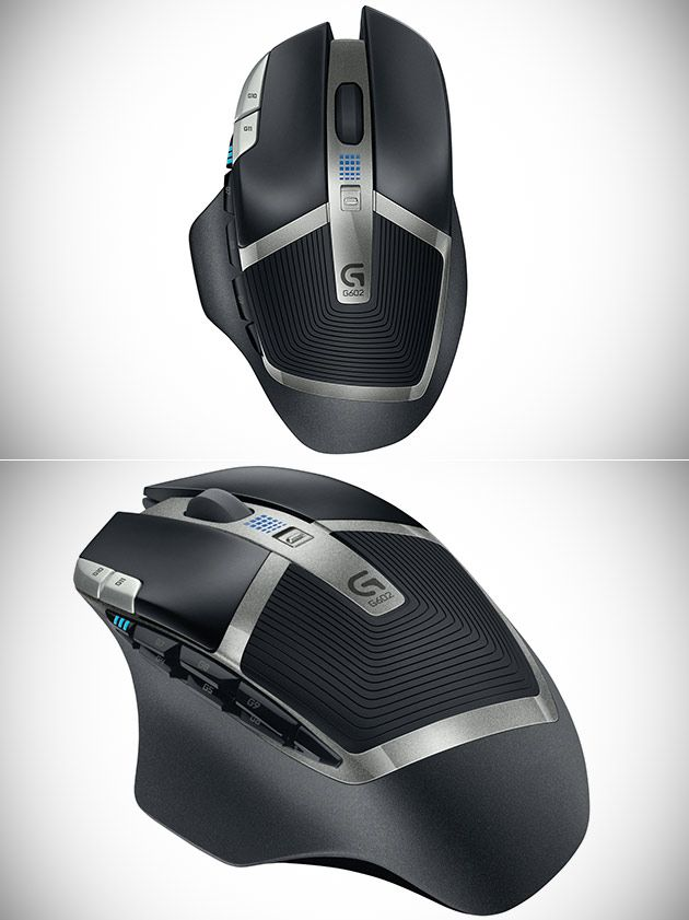 Logitech's G602 Lag-Free Wireless Gaming Mouse | Technology