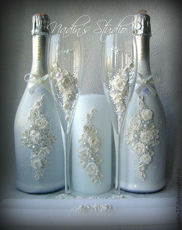 Ideas To Decorate Glass Bottles Decorative Bottles  Cs2Livemasterru… Read More