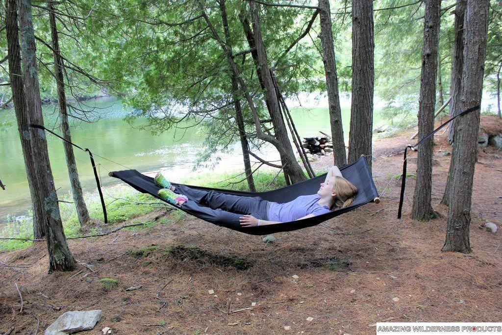 Amazing Wilderness Camp Bed Hammock Chair Bushcraft Cot By Econo Challenge Camping Cot Bushcraft Hammock