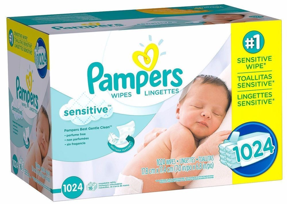 Pampers Baby Wipes Sensitive Skin Diapers Toddler Potty