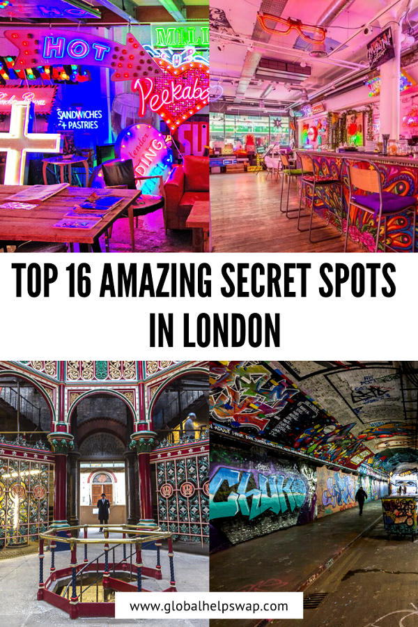 top 16 Amazing Secret Spots In London, England