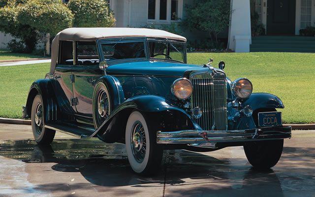 1932 Chrysler Custom Imperial Convertible Sedan