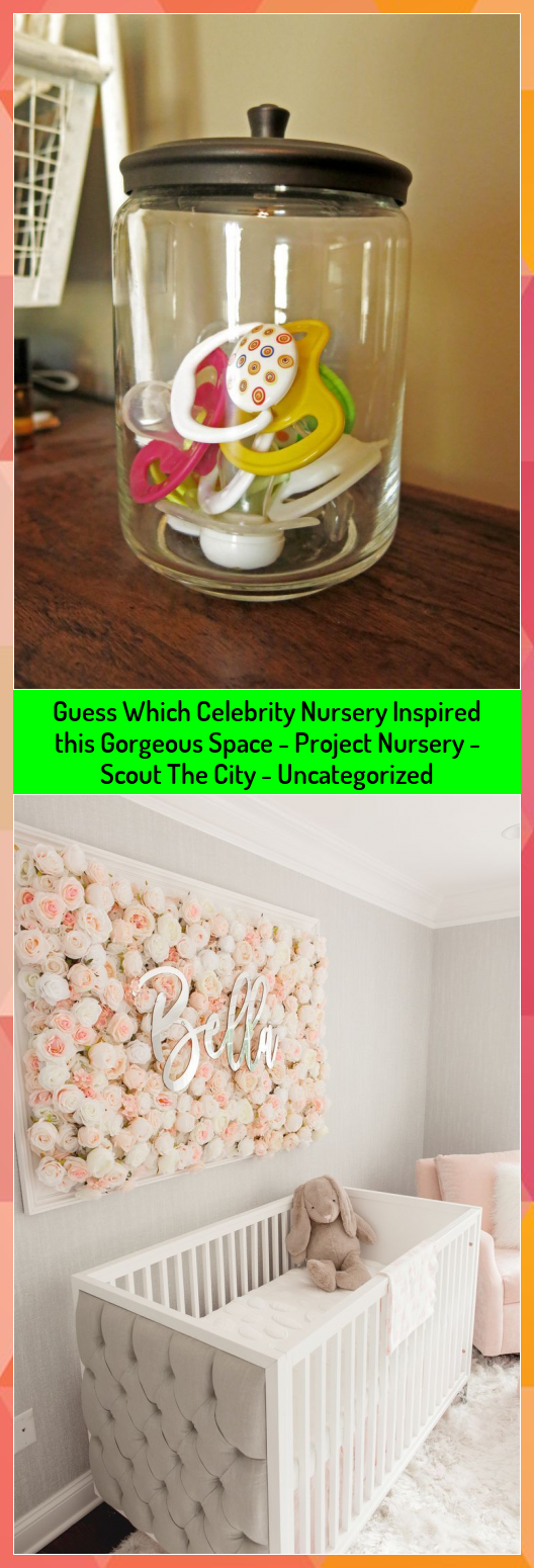 Guess Which Celebrity Nursery Inspired this Gorgeous Space  Project Nursery  Scout The City  Uncategorized