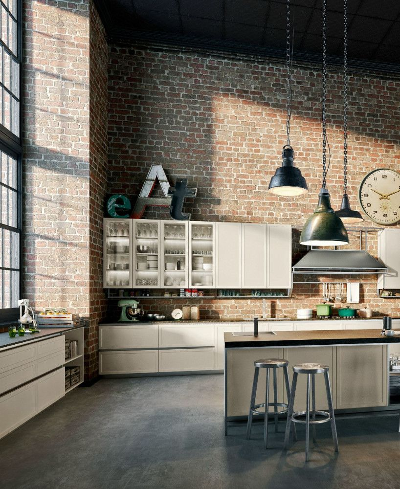 kitchen with island FRAME by Snaidero design Massimo Iosa Ghini