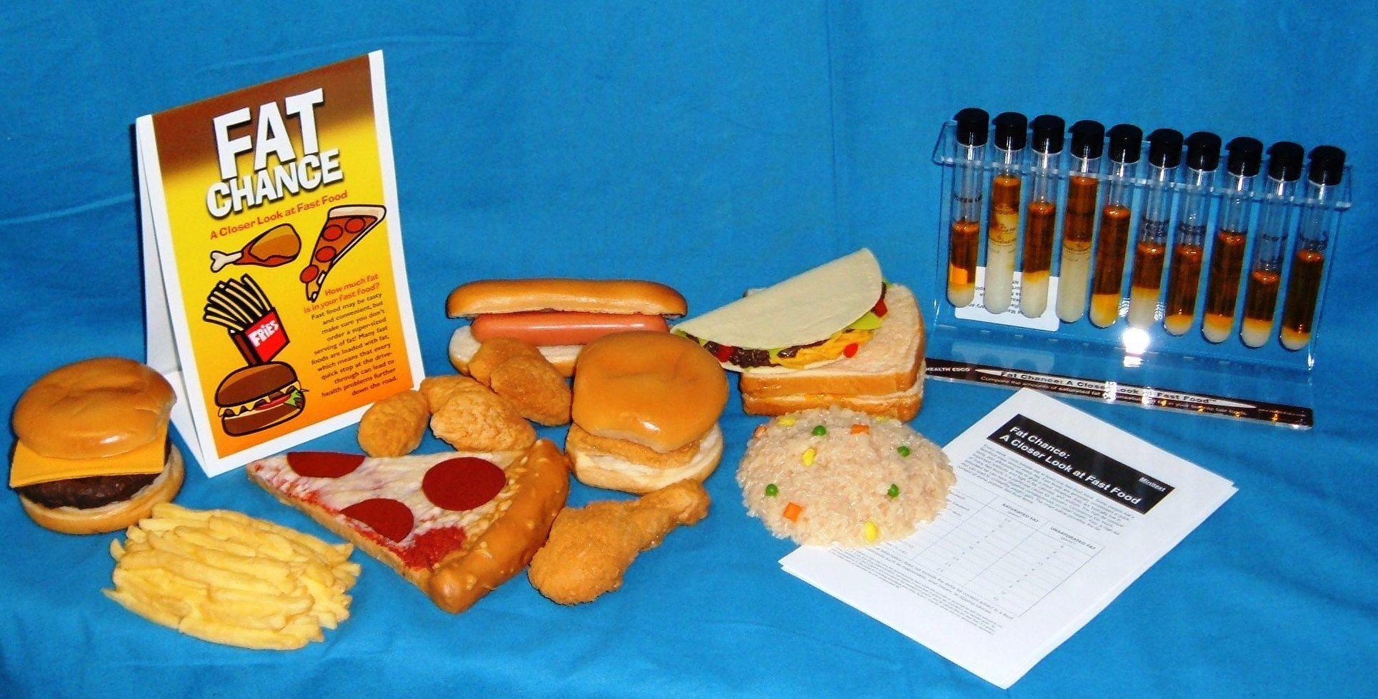 Healthy Food Display