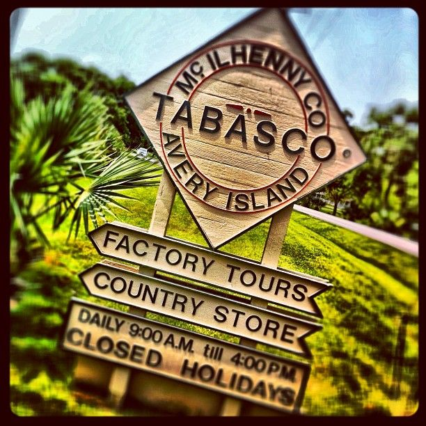 McIlhenny Company (Tabasco Factory) in Avery Island, LA. There are geocaching and wonders to be found here.