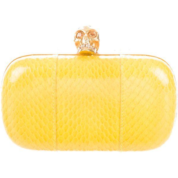 Pre-owned - Python handbag Alexander McQueen ljAUC