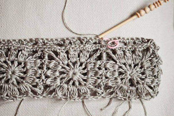 crochelinhasagulhas: Vestido de tecido e crochê pra menina
