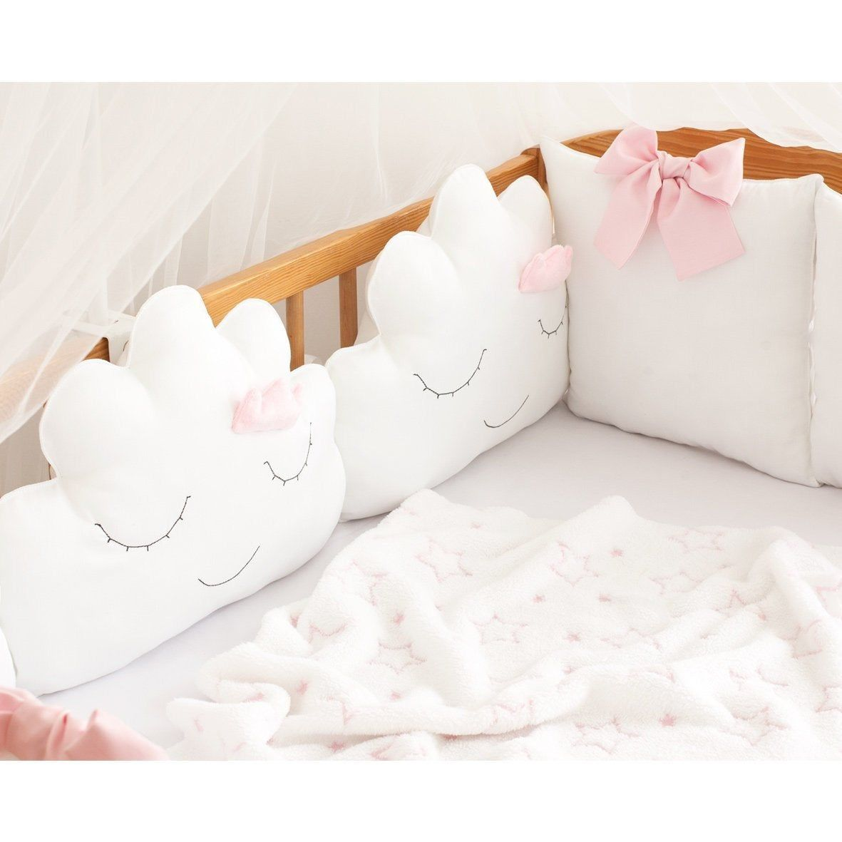 Complete Baby Nursery Bed Bedding Set Cot Boat Duvet Bumper Fitted Sheet Pillow