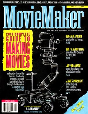 Moviemaker Magazine Cover For 9 1 2013 This Is Awesome Magazine Cover Cover Magazine