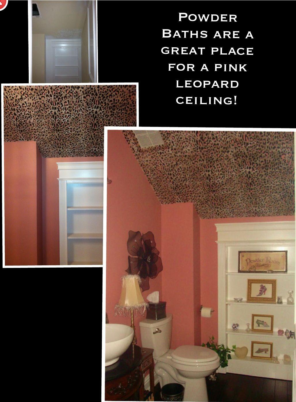 Pink Leopard Ceiling
