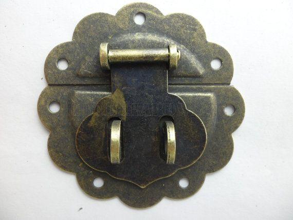58mmx58mm Lock Latch Small Box Hardware Chest Hardware Vintage Etsy In 2020 Vintage Jewelry Box Small Boxes Hardware