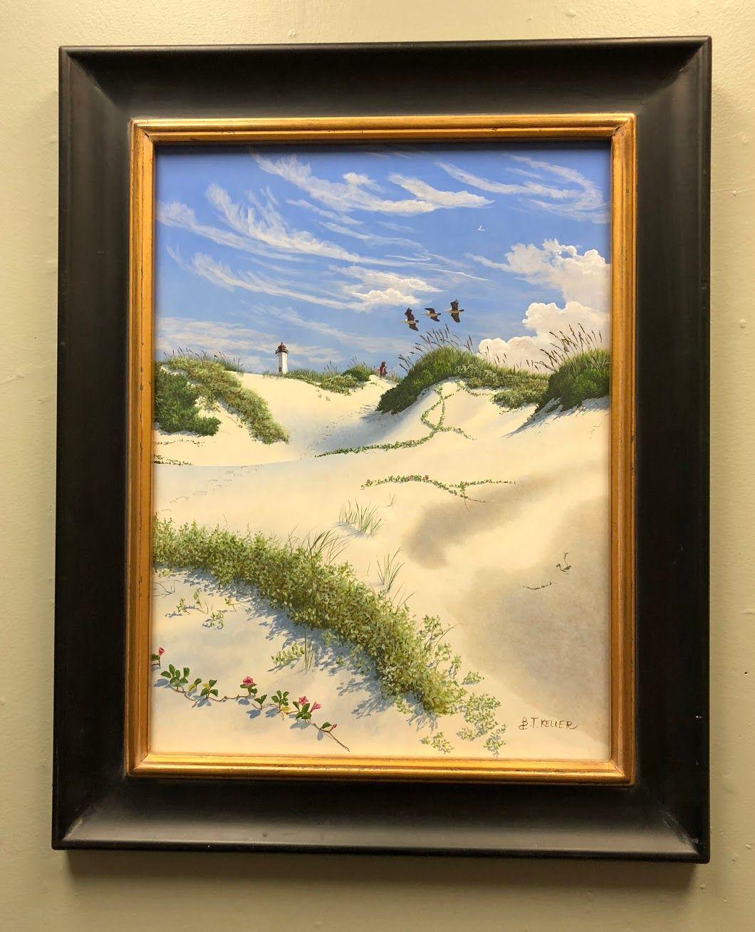 Brian Keller Seaside Painting Bonrics Custom Framing and Gallery ...