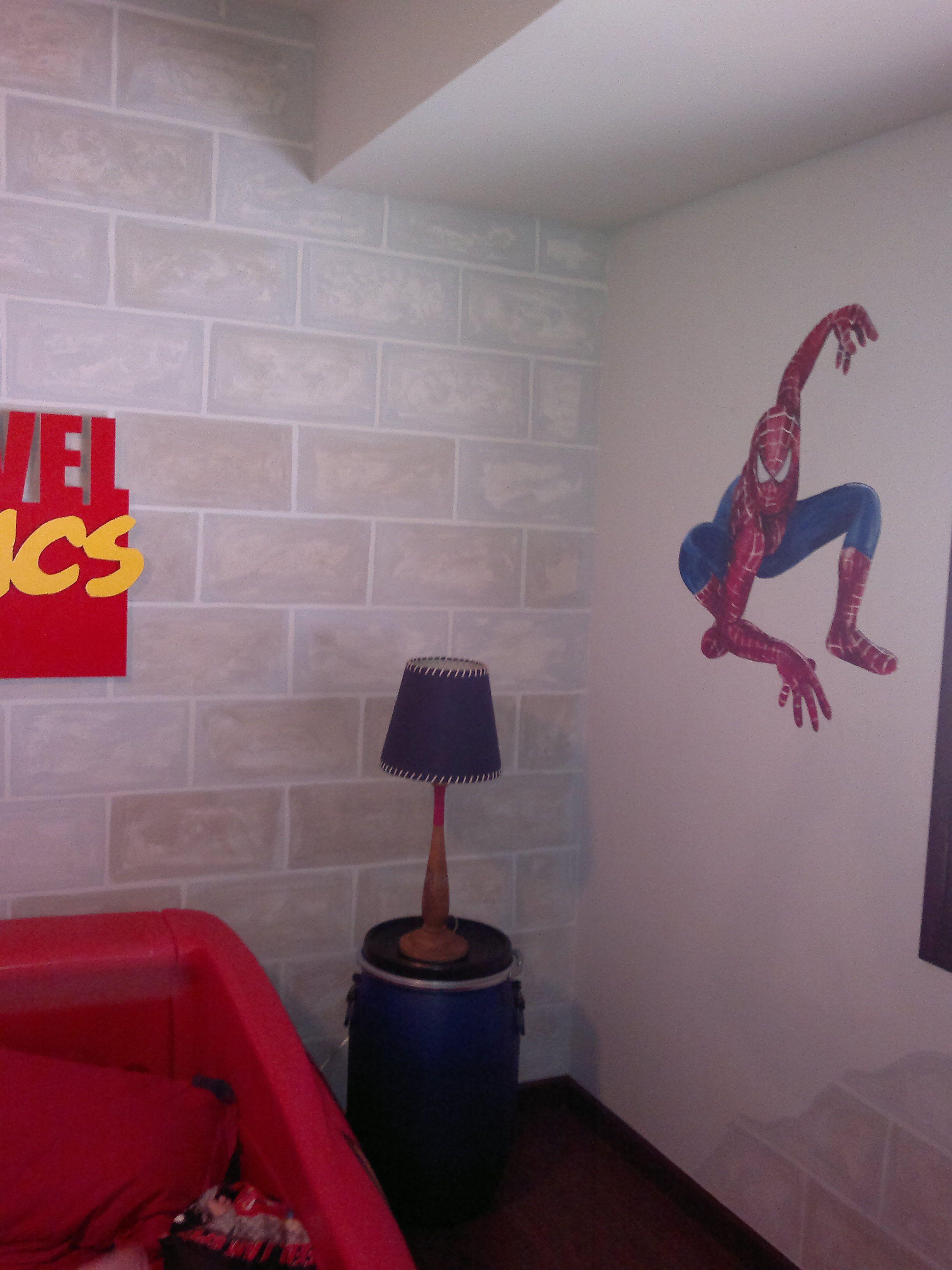 """Habitación infantil """"Superhéroes"""" A Beatriz Arizmendi 2012"""