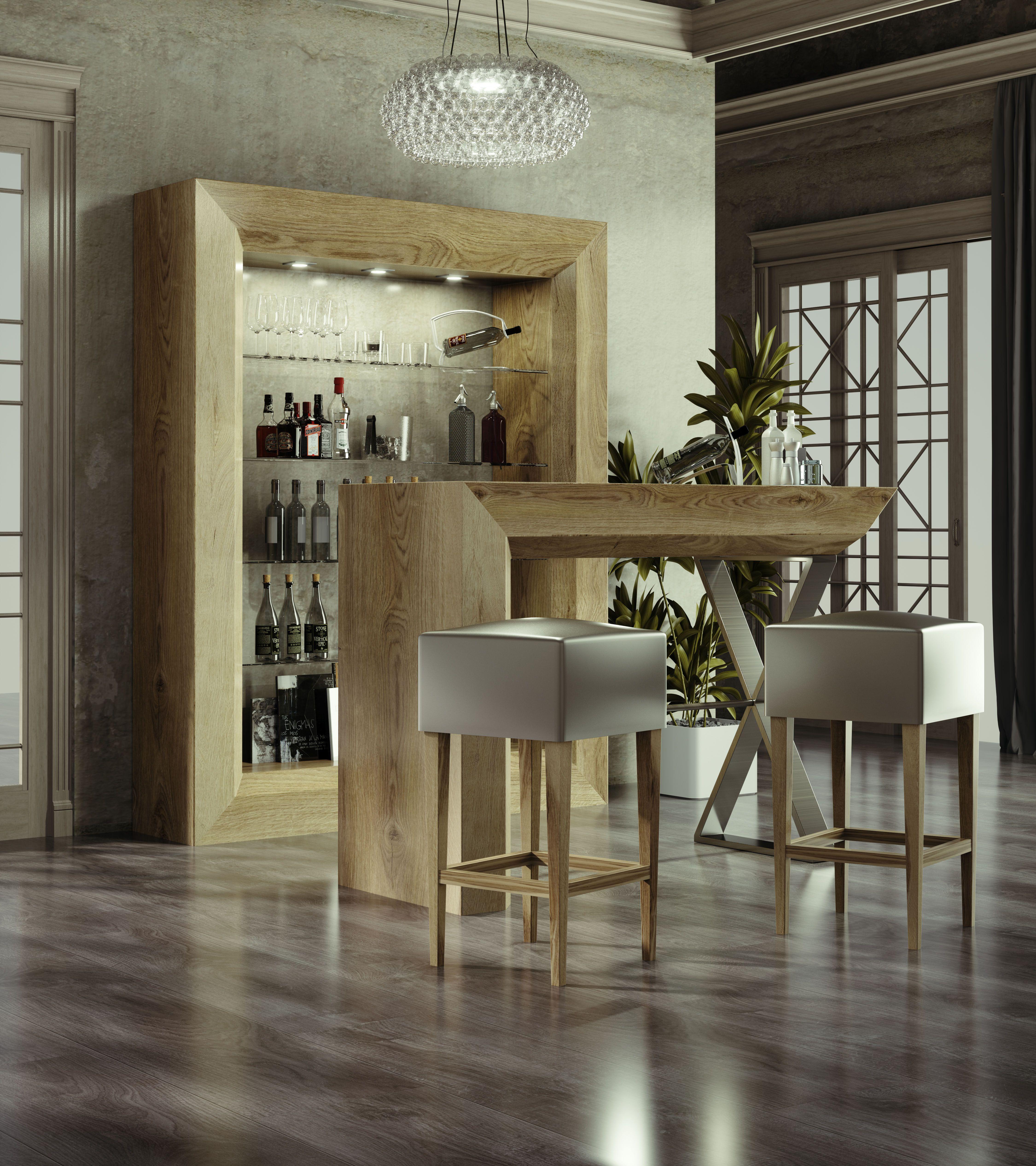 Barras de bar casa barra de bar en casa bar en casa y for Mueble bar moderno para casa