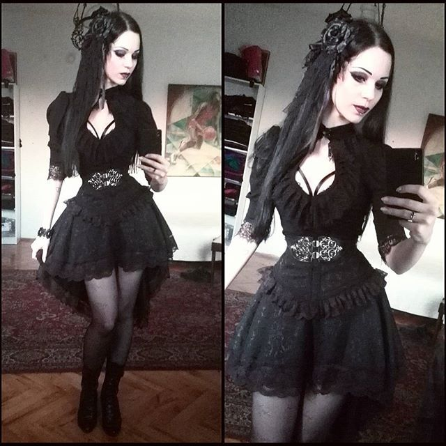 Gothic Hair Style Amongst Other Things
