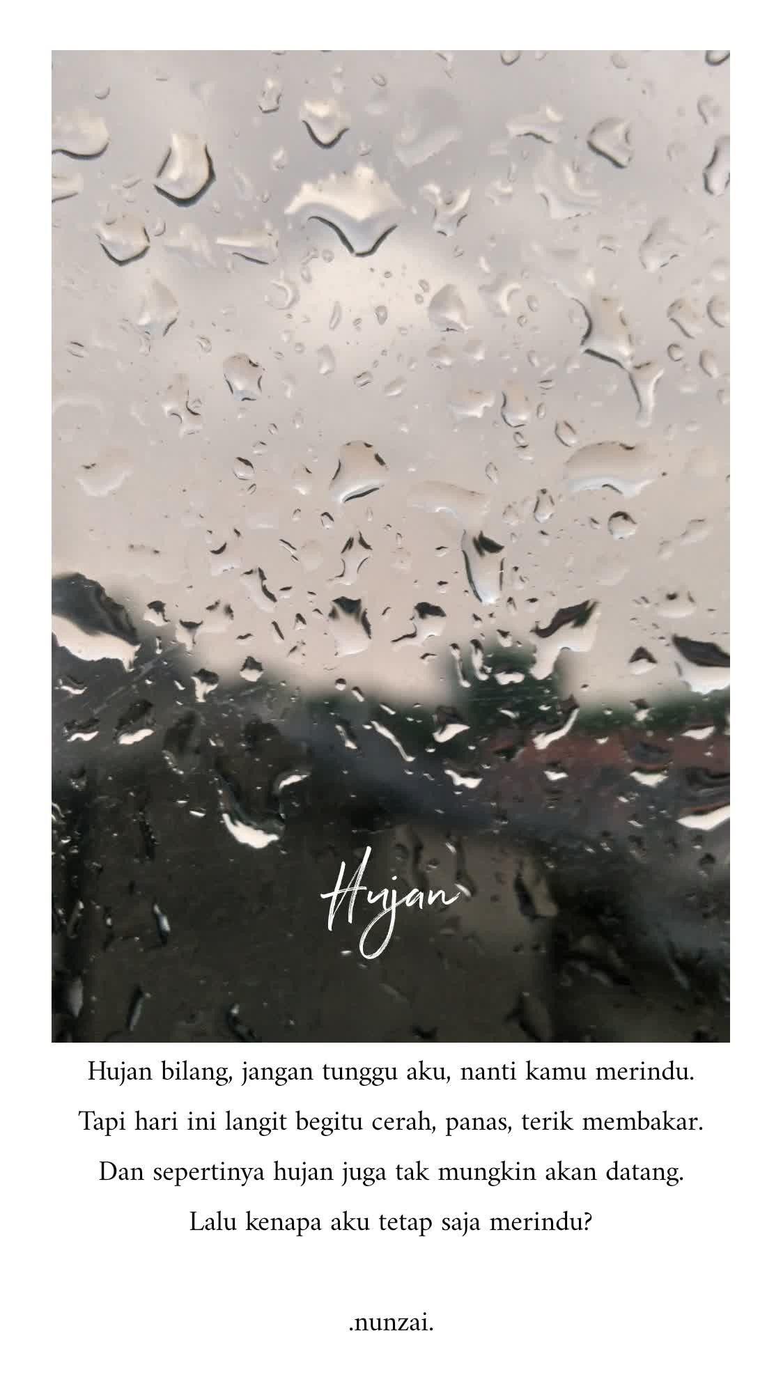 pin oleh 𝓪𝓶𝓮𝔂 di kata kutipan buku kutipan terbaik hujan