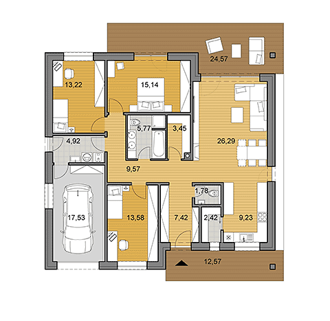 House Plans Choose Your House By Floor Plan Djs Architecture House Plans Small House Floor Plans Floor Plans