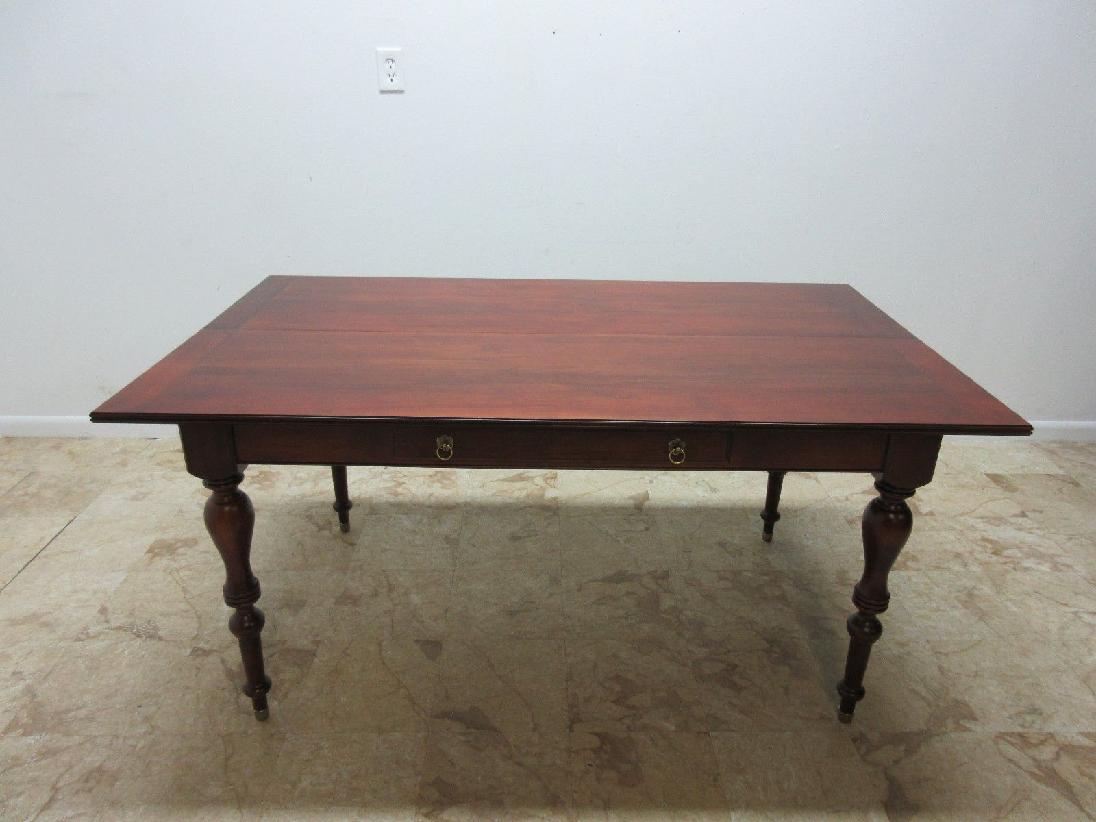 Table We Have That Folds Into A Side Table Ethan Allen British