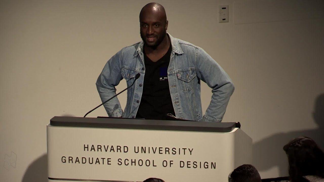 """Core Studio Public Lecture Virgil Abloh, """"Insert"""