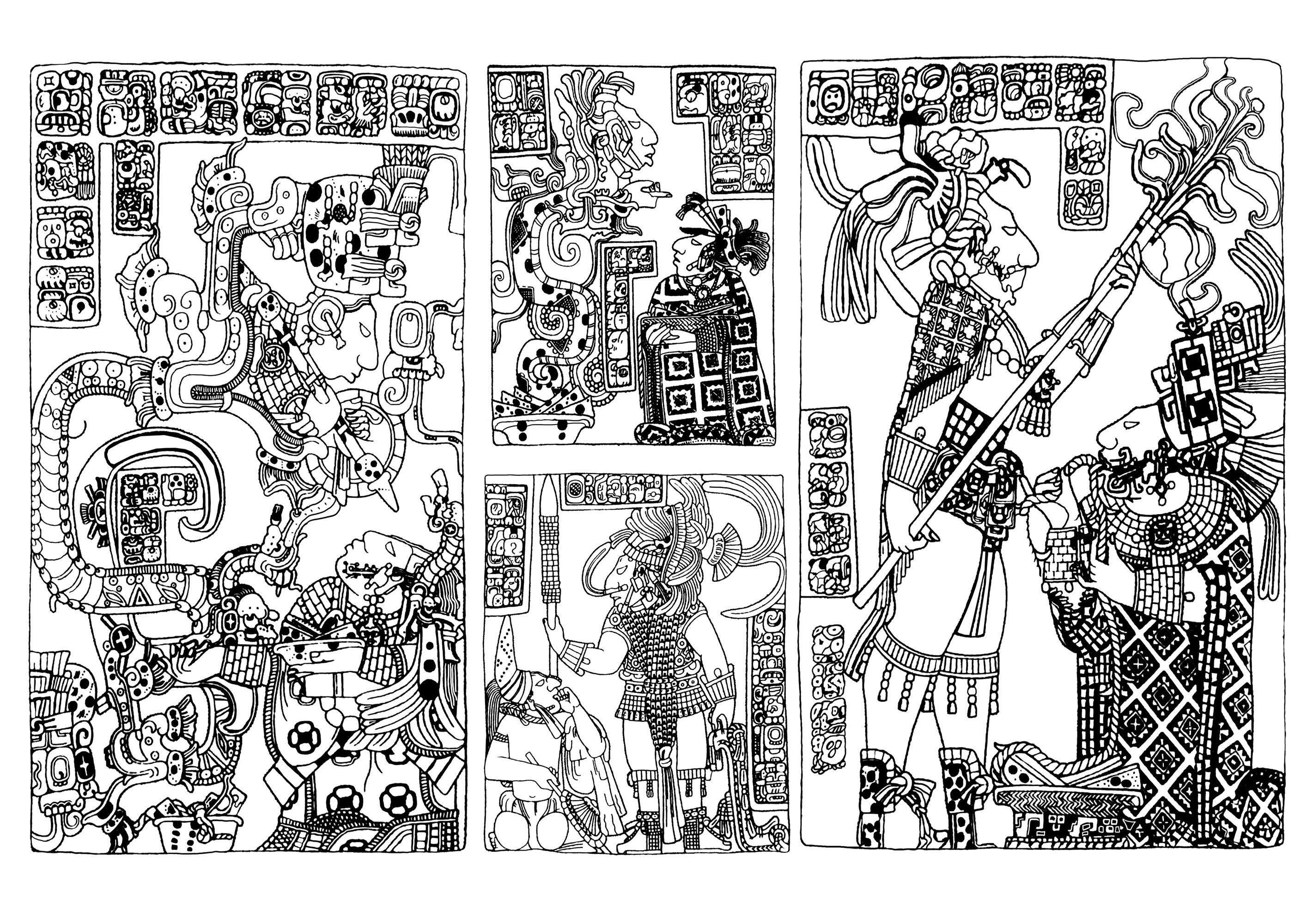Inca Amp Aztec Tattoo Designs Gallery
