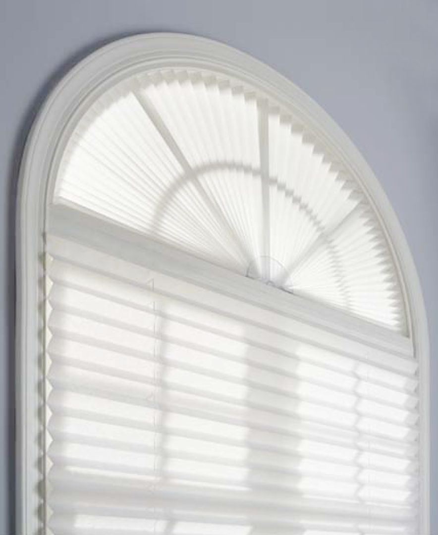 Redi Shade Window Treatments Arch Shade Blinds Amp Shades