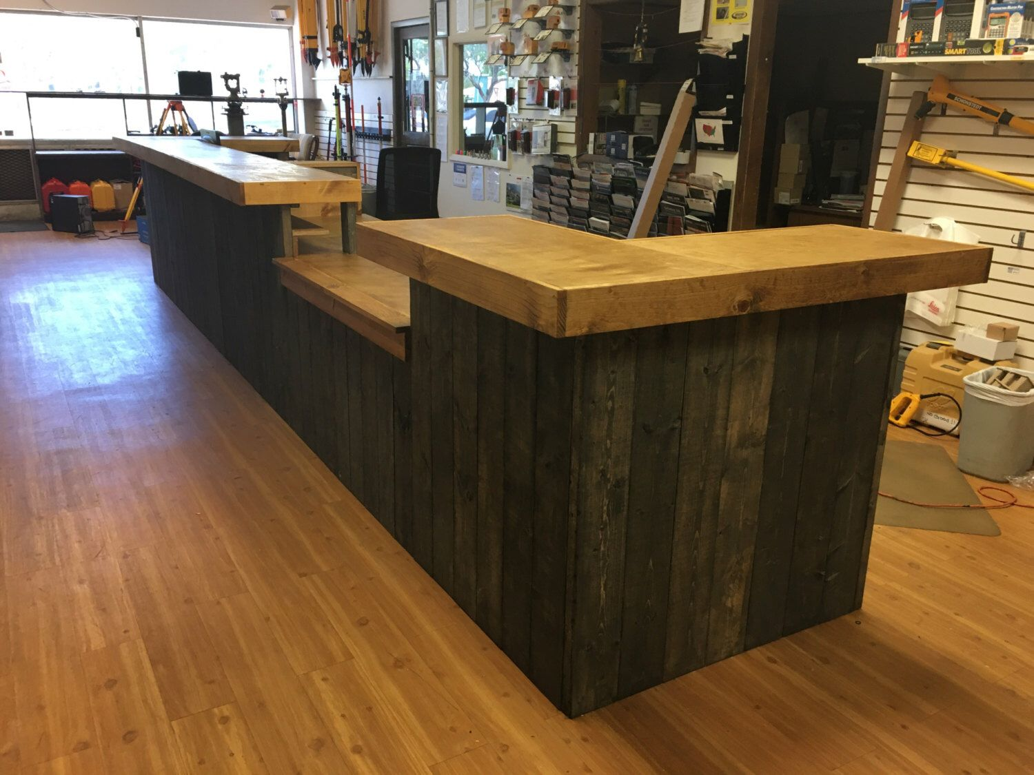 Sale Counter Design The Survey 20 39 Rustic Custom Sales Counter Or Reception
