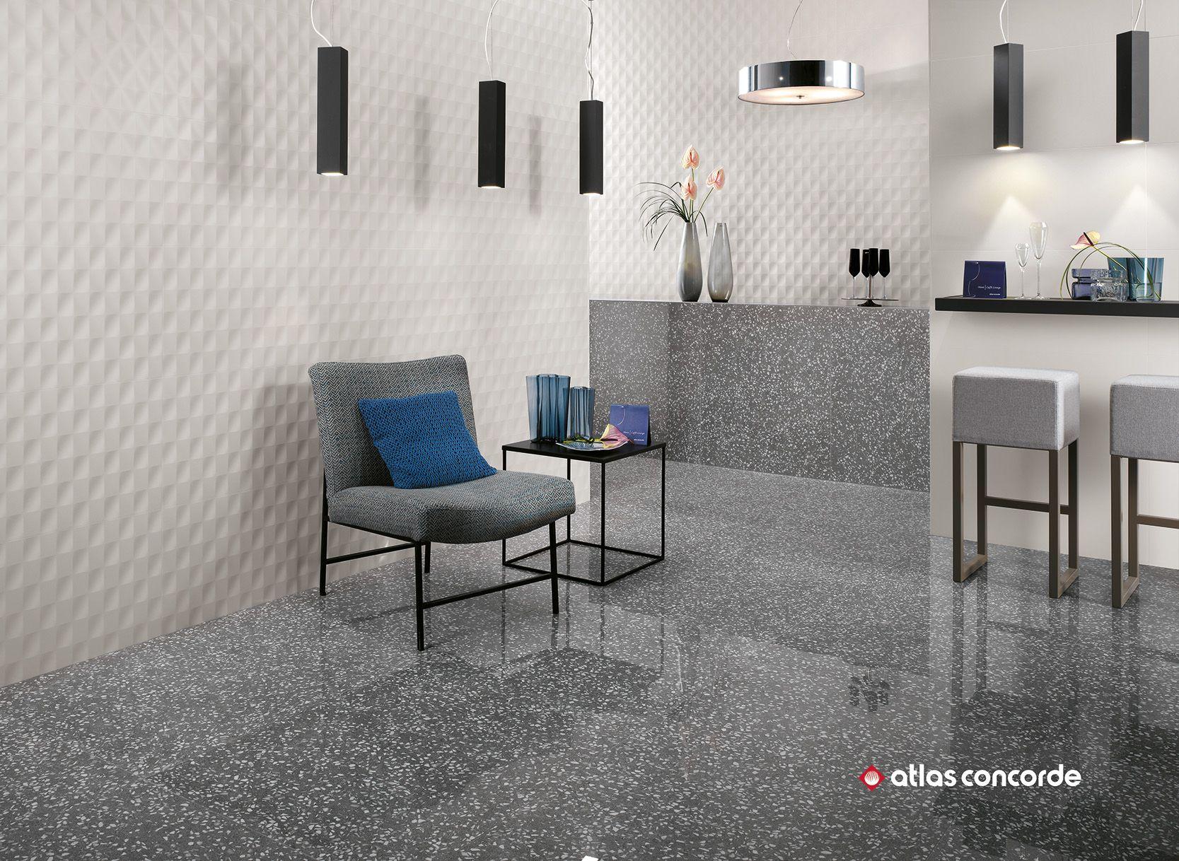3d Look Fur Ein Aussergewohnliches Raumerlebnis Fliesen Wohnzimmer Wandgestaltung Fliesen Kuche