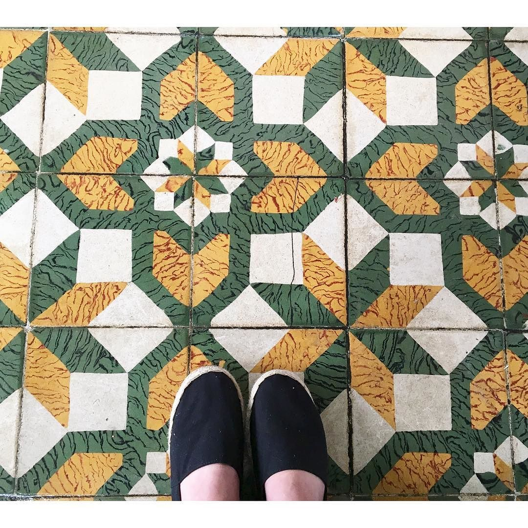 .: Saturday Pizza Day   Cool Tile Floors :. #thedashingfox #atlantavibes by lizzie_a_brandon