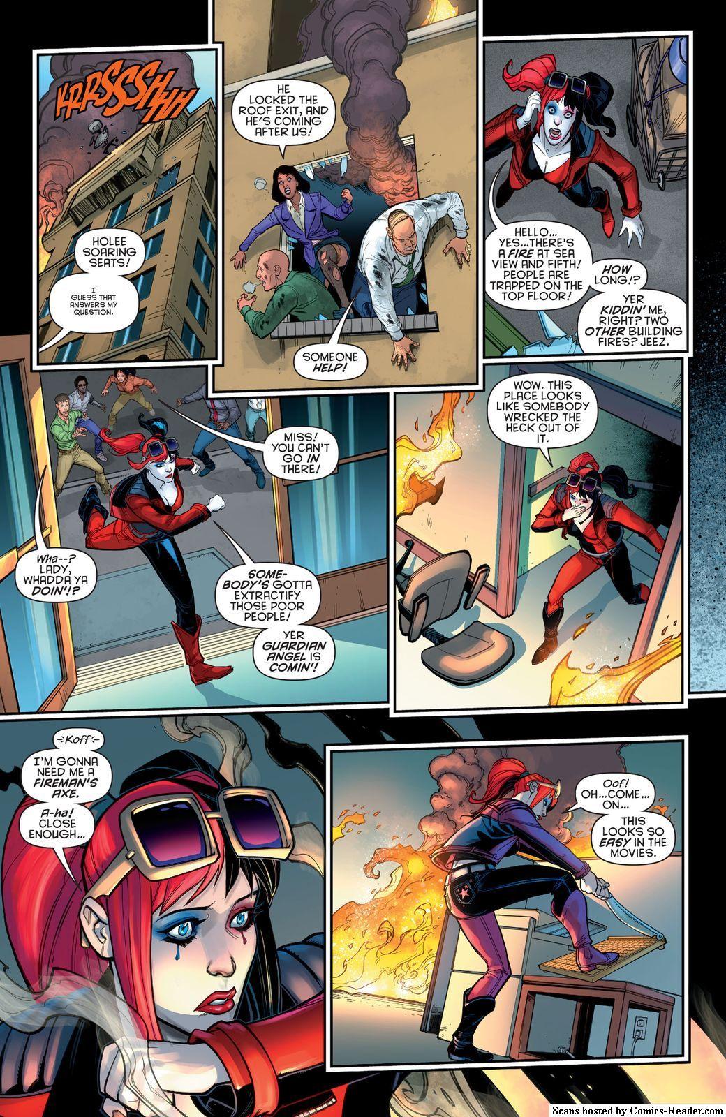 Pin by Telesia Manuleleua on Comic Book | Harley quinn