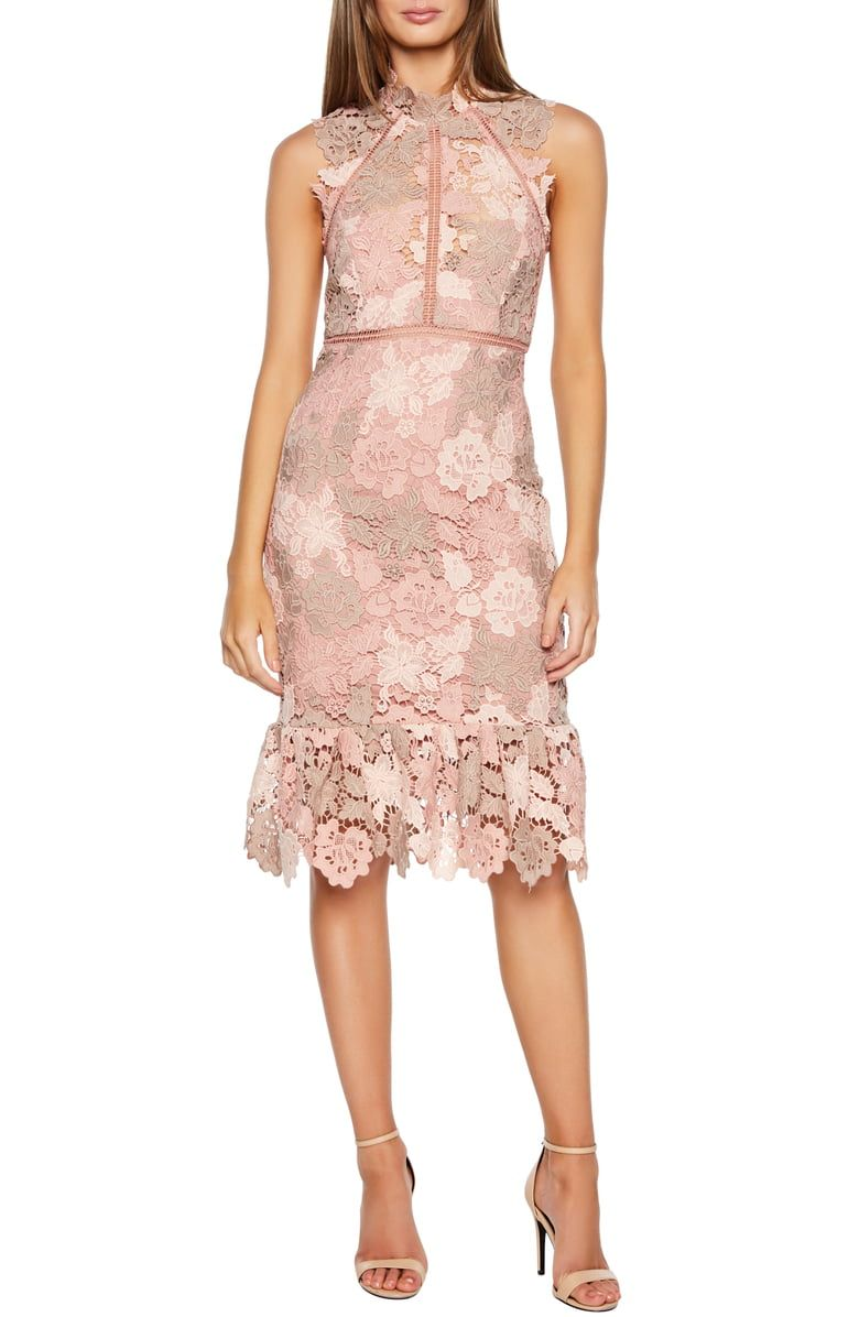 Free Shipping And Returns On Bardot Dani Lace Sheath Dress