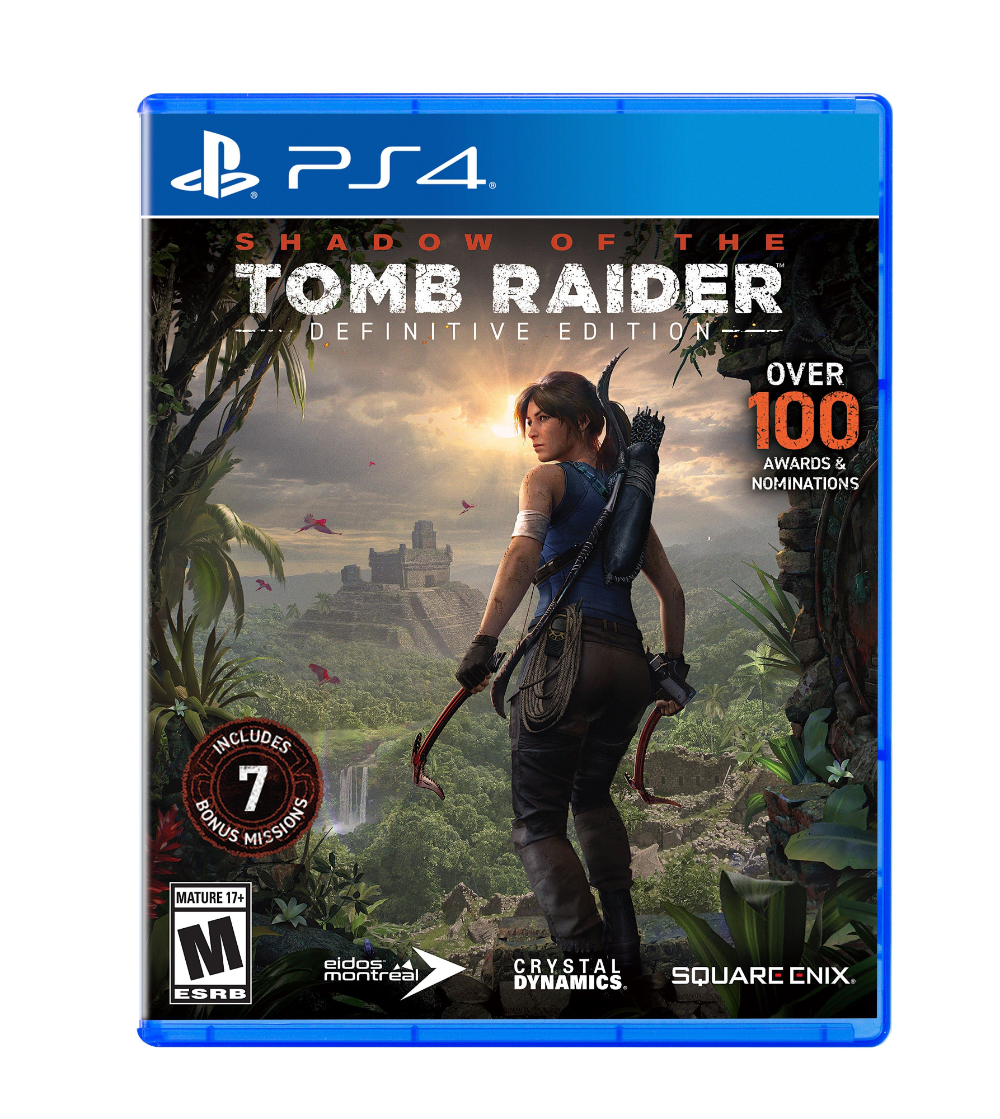 Shadow Of The Tomb Raider Definitive Edition Playstation 4 Gamestop Tomb Raider Xbox One Video Games Xbox
