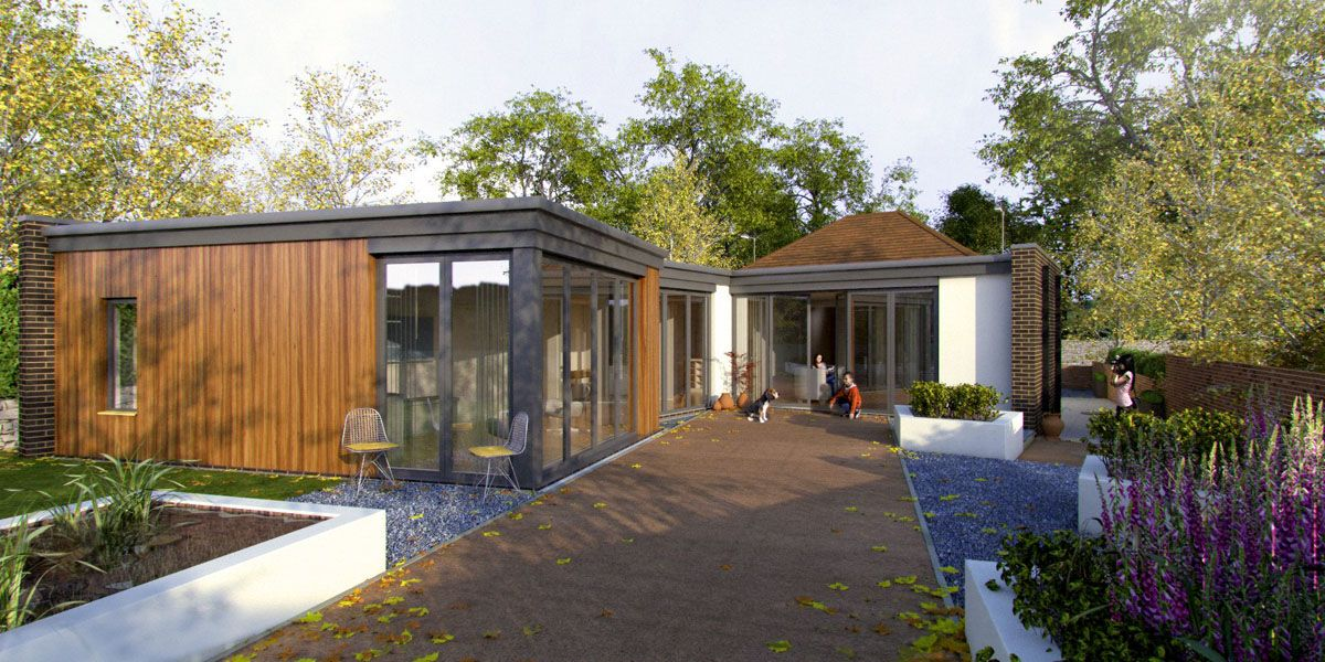Ryegate Road Sheffield Mad Architects Architect Flat Roof Extension Bungalow Renovation