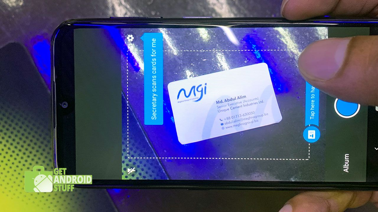 Top 10 Apps To Scan Business Card And Digitize Contacts On Android