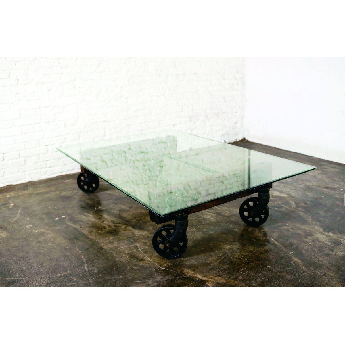 - Nuevo Living V35 Coffee Table Clear Coffee Table, Coffee Table