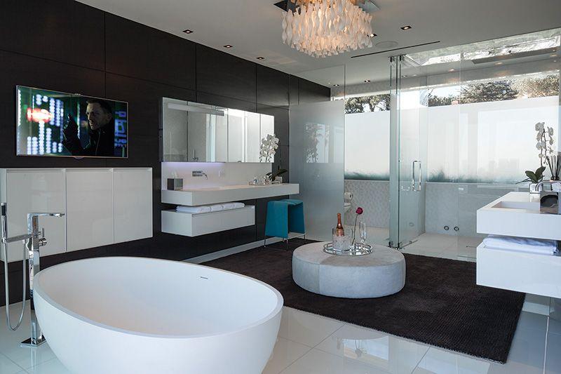 master bath suite | 1201 laurel way, beverly hills | pinterest