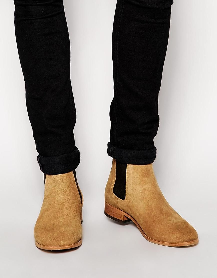 Shoe The Bear Suede Chelsea Boots at