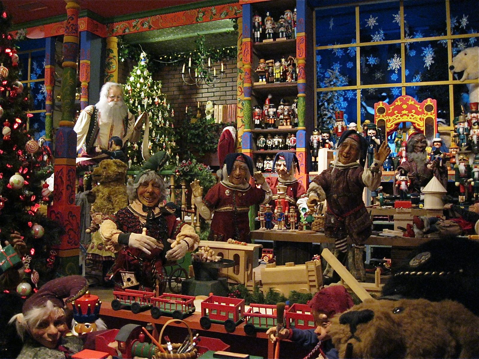 Bring The Kids To The Event Of The Holiday Season At Elves Workshop On December 9th At The Comm Santas Workshop Dollhouse Christmas North Pole Santa S Workshop