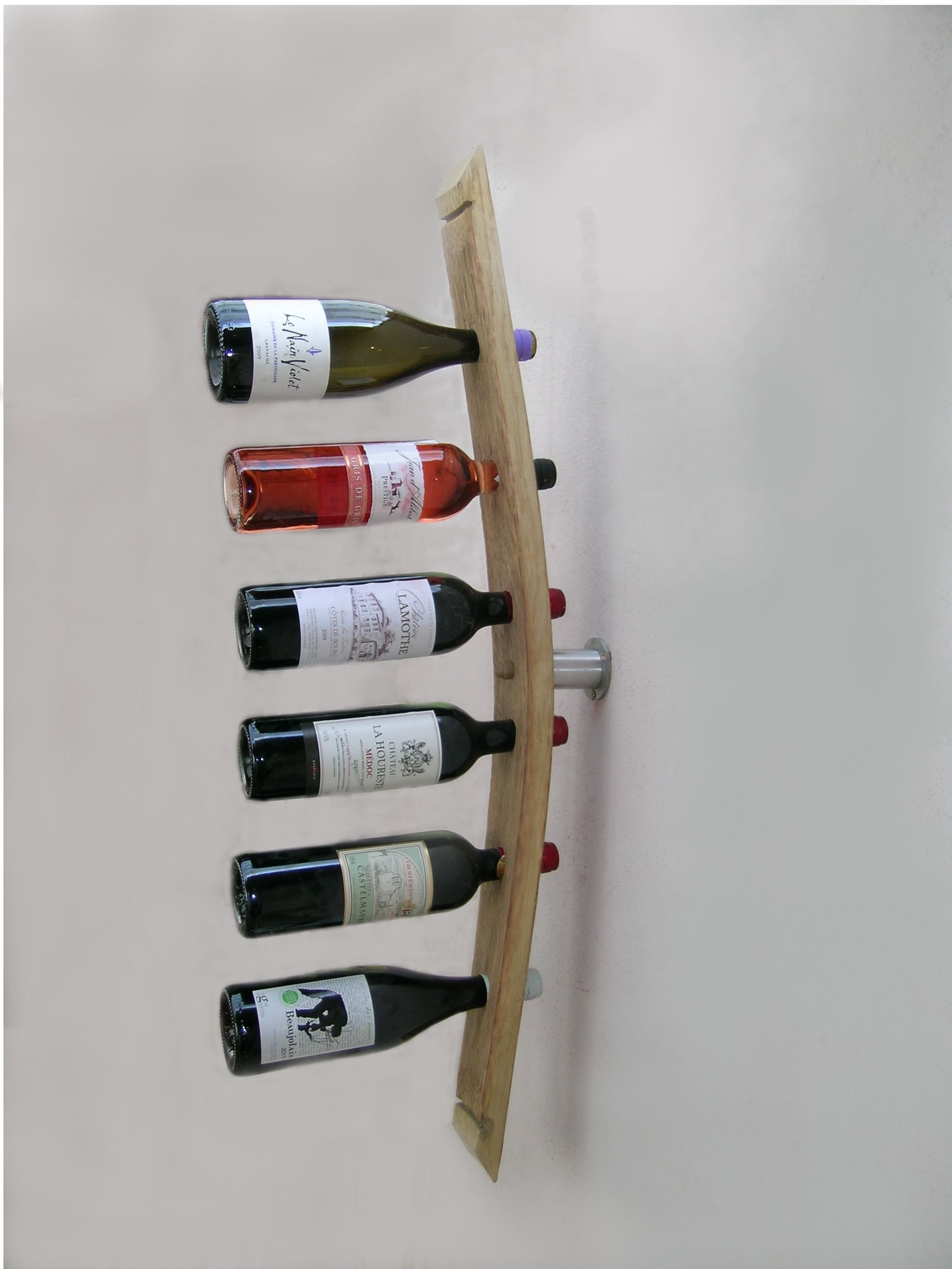 Porte bouteille mural accessoires du vin range bouteille for Meuble porte bouteille vin