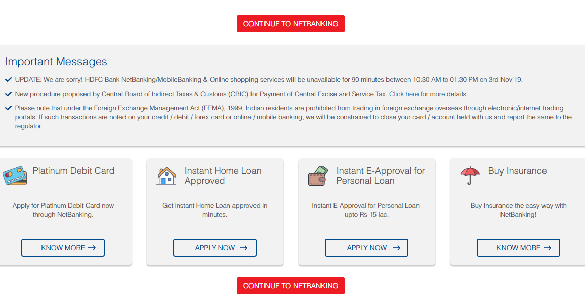 Hdfc Bank Net Banking The Hdfc Bank Provides The Easiest Way To Reset Or Generate Your Net Banking Login Password Hdfc Netb Recover Password Passwords Reset
