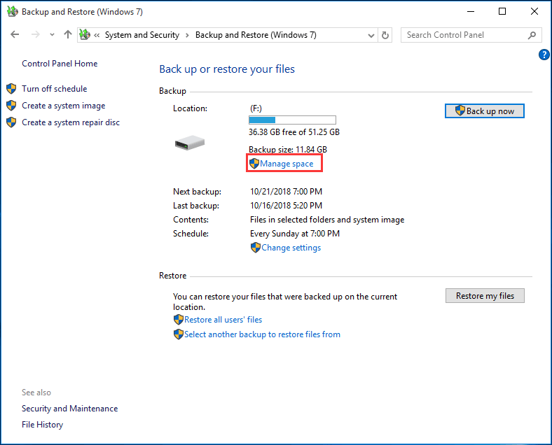 How To Delete Backup Files In Windows 10 8 7 Effectively 2 Cases