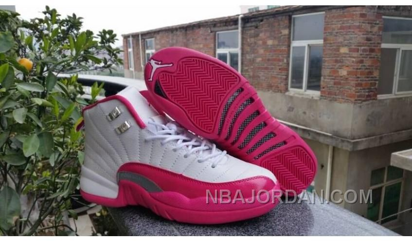 http   www.nbajordan.com women-air-jordan-12-gs-dynamic-pink-sneaker-aaa-212-christmas-deals.html  WOMEN AIR JORDAN 12 GS DYNAMIC PINK SNEAKER AAA 212 TOP ... 883c0f748c