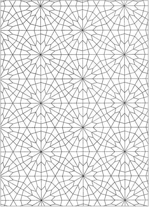 Pattern Arabisches Muster Muster Malvorlagen Musterdruck