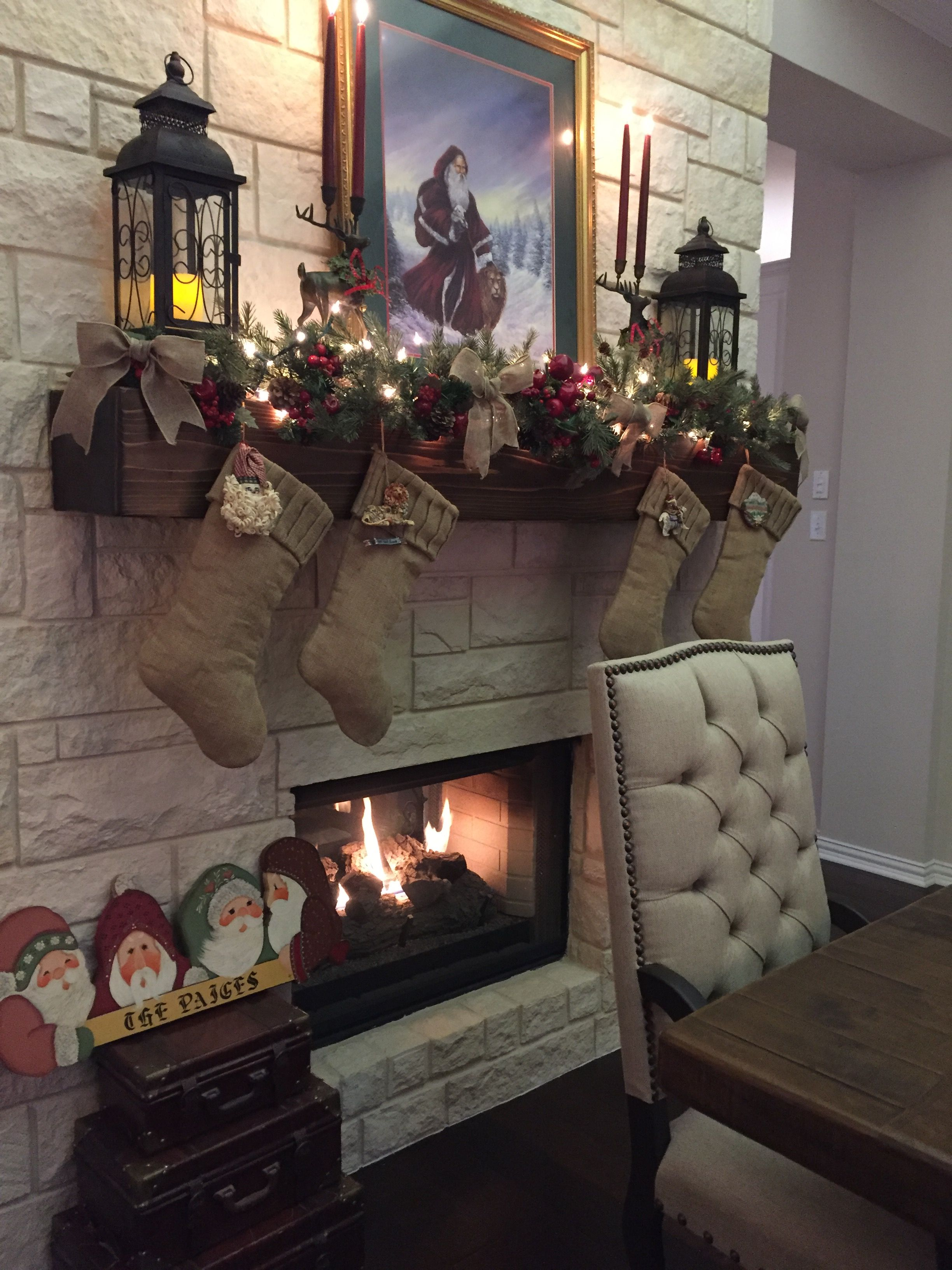 37+ Fireplace decor with lanterns inspirations