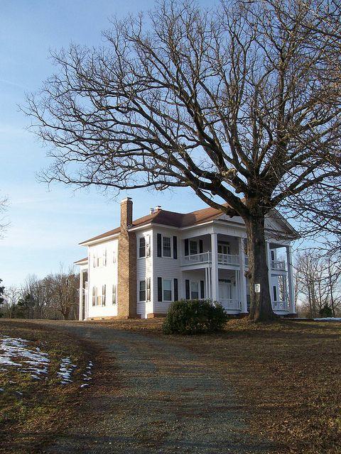 Walkup Home 1 16 2011 Southern Mansions Union County North Carolina History