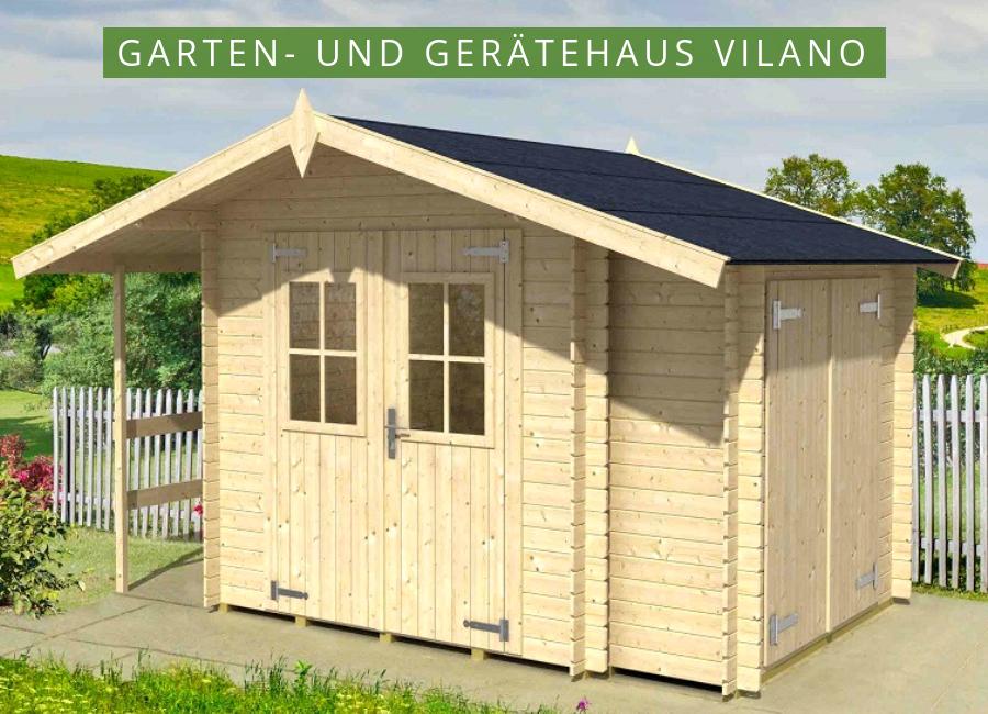 Lasita Maja Garten und Gerätehaus Vilano 59103500 Haus