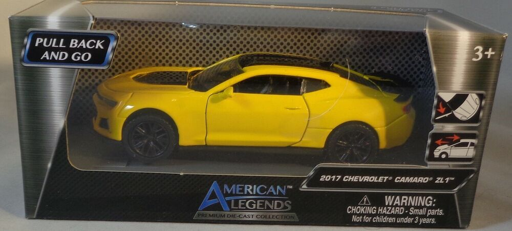 American Legends 2017 Chevrolet Camaro Zl1 Yellow 1 43 Scale New